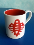Red Bug Tasse